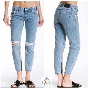 🆕One Teaspoon Freebirds Rigid Skinny Jeans Blue